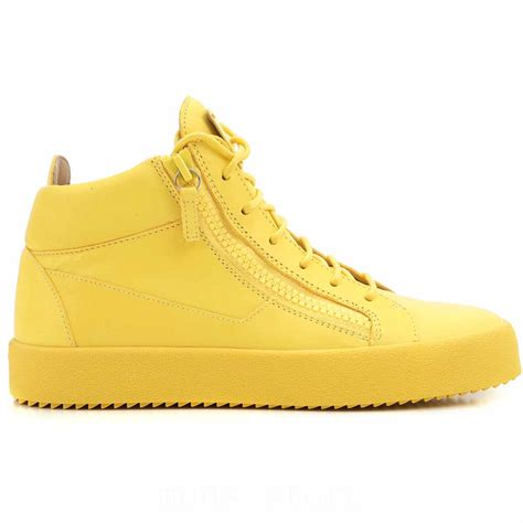yellow shoes mens shoes sale giuseppe zanotti design sneakers yellow