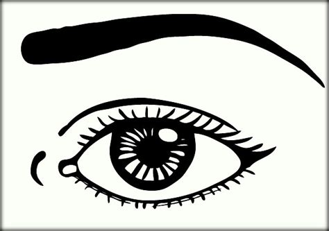 eye coloring pages for preschool human eyes coloring pages for preschoolers color zini