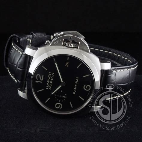rrc panerai pam312 black panerai pam312 luminor marina 1950 3 days automatic