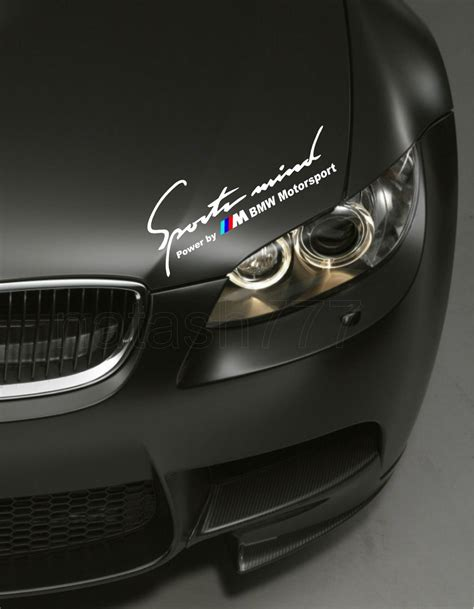 bmw e46 sticker bmw m motorsport car decal vinyl sticker 48 inch m3 m5 m6
