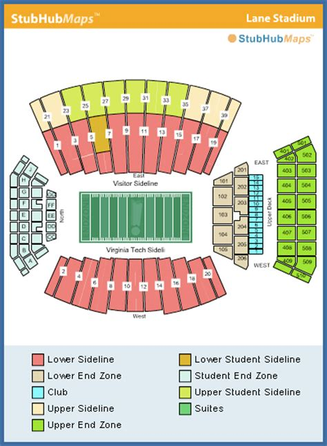 tech stadium seating capacity virginia tech football stadium espn