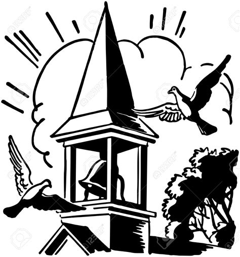 J Cbell Sketches by Pics For Gt Church Bell Clipart Black And White