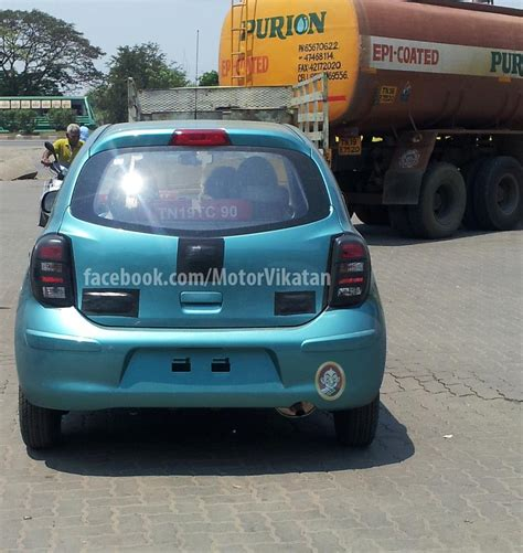 Daytime Shot Of Price Cut Nissan Micra Active Launch Soon