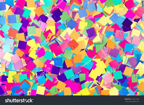 colorful paper colorful background paper confetti squares stock photo
