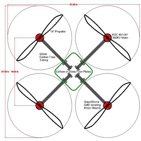frame design of quadcopter quadcopter design