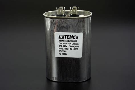capacitor ac rating run capacitor 50 mfd uf 370 440 v vac volts oval ac electric motor hvac 50 uf ebay