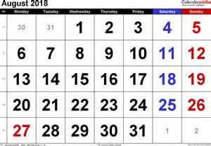 Calendar 2018 Uk Excel Calendar August 2018 Uk Bank Holidays Excel Pdf Word