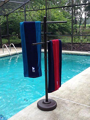 towel racks for pool outdoor l company outdoor spa and pool towel rack