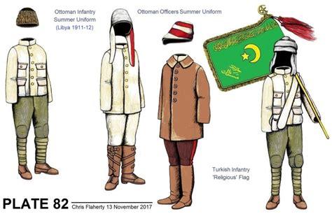 Ottoman Army Uniforms Ottoman Uniforms 1911 Ottoman Army Uniforms Of The Italo Turkish War In Libya