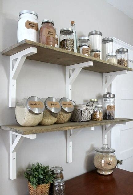 Open Kitchen Pantry Shelving Open Shelving Kitchen Pantry Diyideacenter