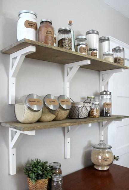 diy open shelving kitchen open shelving kitchen pantry diyideacenter com