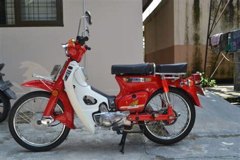 Keranjang Tengah Honda C70 5 motor antik yang tengah jadi primadona di indonesia