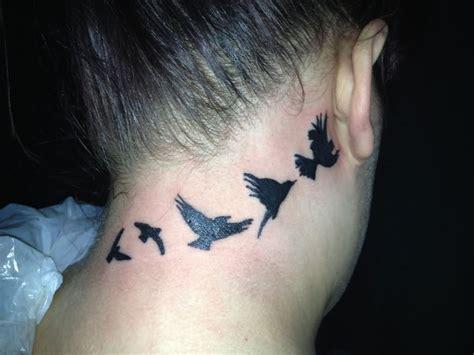 tattoo on neck bird 25 nice birds tattoos on neck