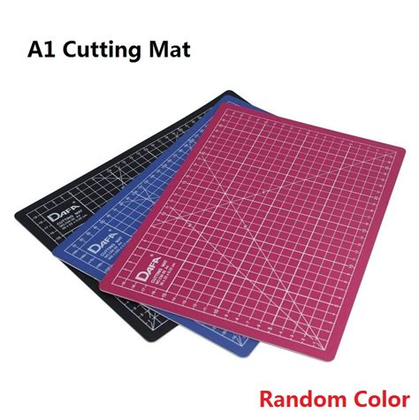 Work Cutting Mat Pad A3 45 X 30cm a1 black bule pink color cutting mat self healing engraved paper cutting board sculpture plate