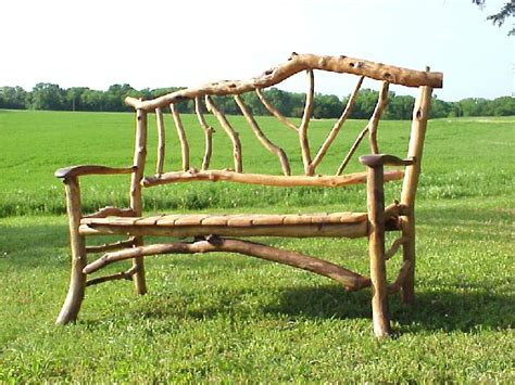 rustic twig furniture building