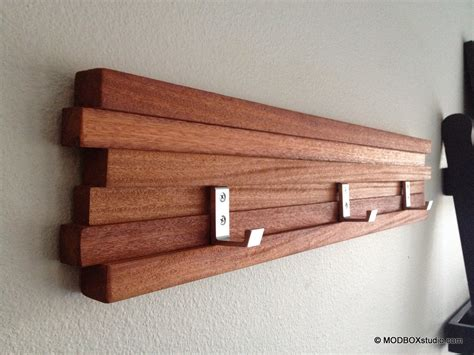 Hat Rack Wall by Coat Rack 4 Hook Key Hat Rack Minimalist Modern Wall Hanging