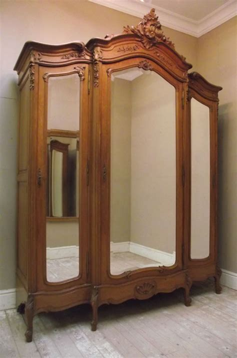 triple armoire if2854 superb antique louis xv armoire triple wardrobe