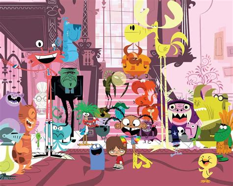 Foster Home For Imaginary Friends by Newfoundjoye Chatter Foster S Home For