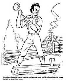 abraham lincoln coloring page abraham lincoln coloring pages