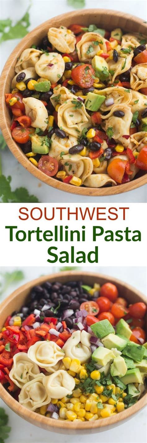 cold pasta salad ideas the 25 best cold tortellini salad ideas on pinterest