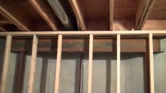 gap between basement wall and ceiling joist mp4