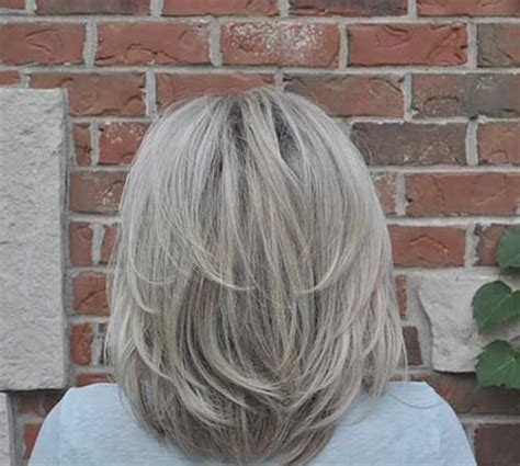 womans haircut back touches top of shoulders front is longer 30 layered haircuts for short hair short hairstyles