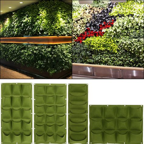 aliexpress com buy green planting bag garden wall vertical strawberry vegetable garden flower