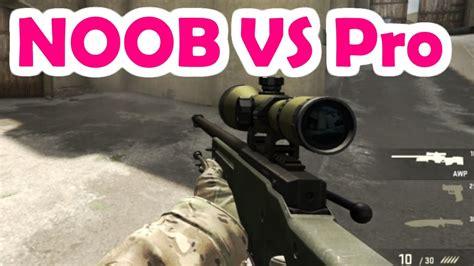cs go noob vs pro 1 vs 1 awp only