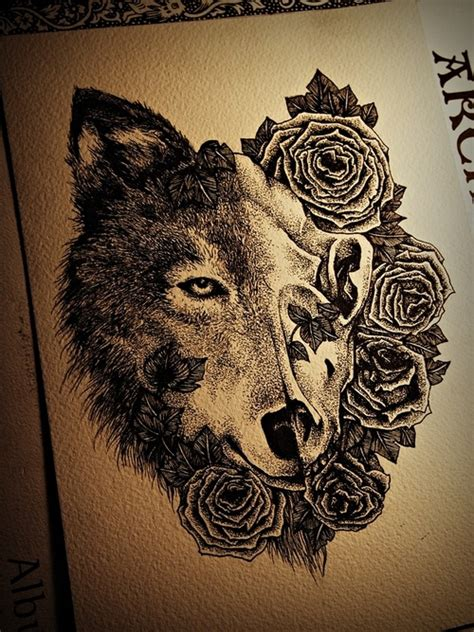 pin wolf mandala tattoo inspi on pinterest