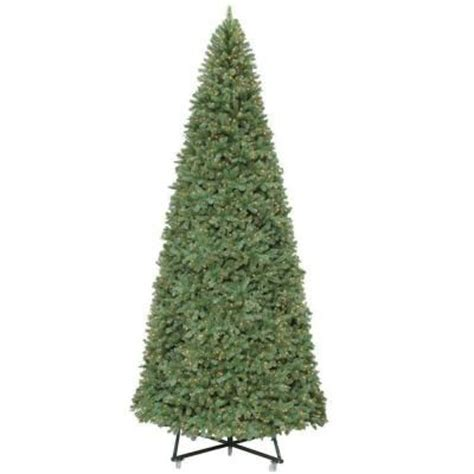 15 ft pre lit wesley spruce artificial christmas tree