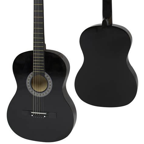 Guitar Black new beginners acoustic guitar with guitar