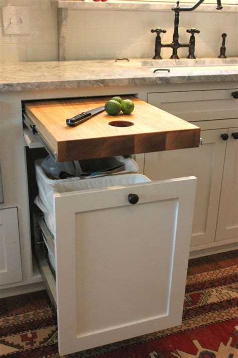 upgrade kitchen cabinets bright design kitchen dining room ideas wow cutting board with hole cut out directly to garbage