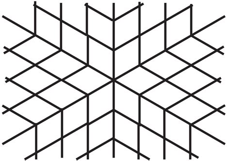pattern fold line 301 moved permanently