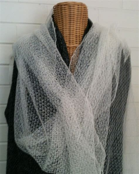 machine knit lace tuck lace shawl made from candalaraine 2 60 baby alpaca