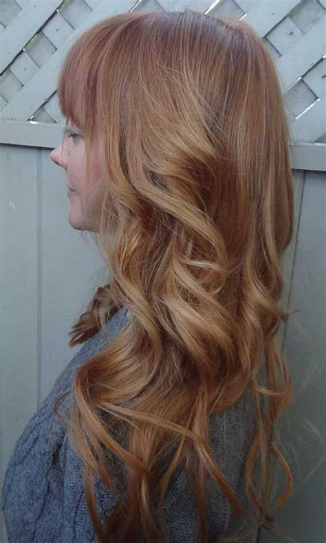 gorgeous long blonde hair 15 long strawberry blonde hair hairstyles haircuts