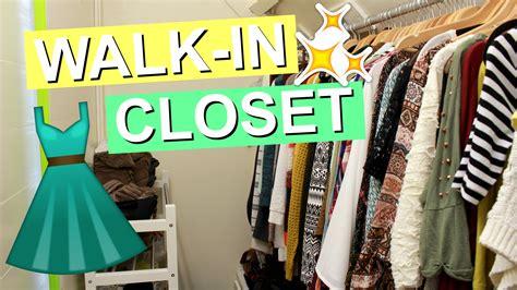 walk in closet tour irina touw