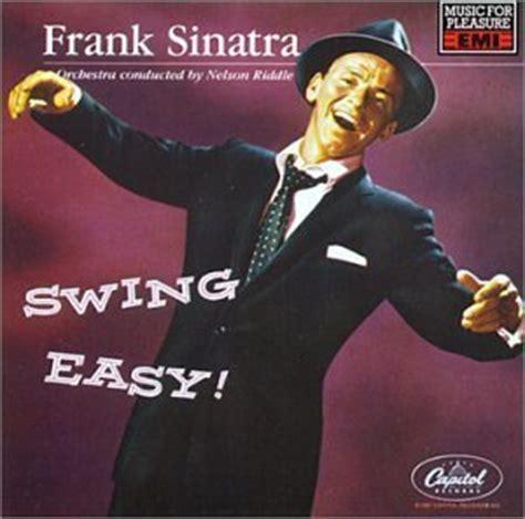swing album frank sinatra album swing easy frank sinatra fan art