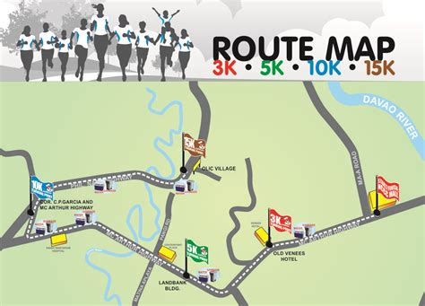 run map 15th jollibee family run 2014 route map fitness