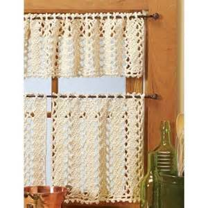 Kitchen Curtain Patterns Inspiration 15 Best Ideas About Crochet Curtains On Curtain Tiebacks Inspiration Crochet