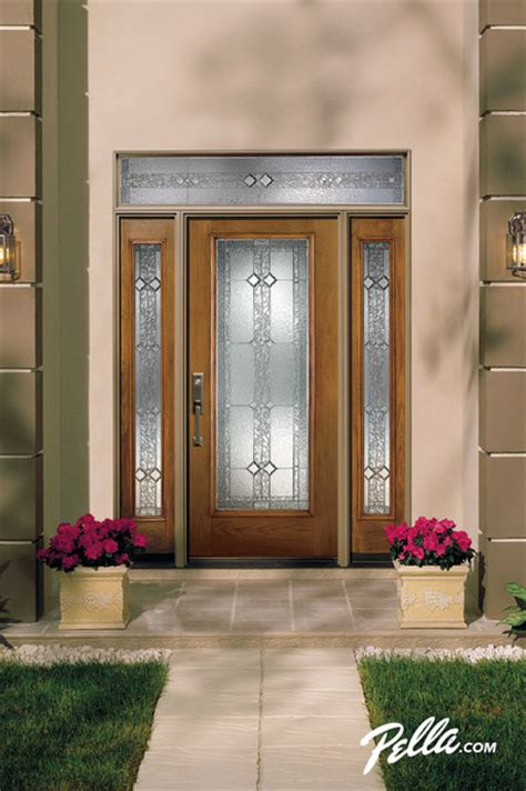 pella front door pella 174 proline entry doors add low maintenance high performance style traditional entry