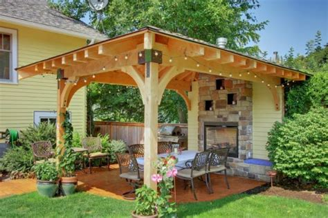Yard Gazebo by How To Turn Your Backyard Into A Fun Outdoor Living Area
