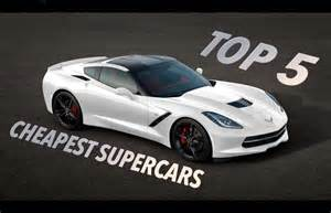 what is the cheapest new car available top 5 cheapest supercars