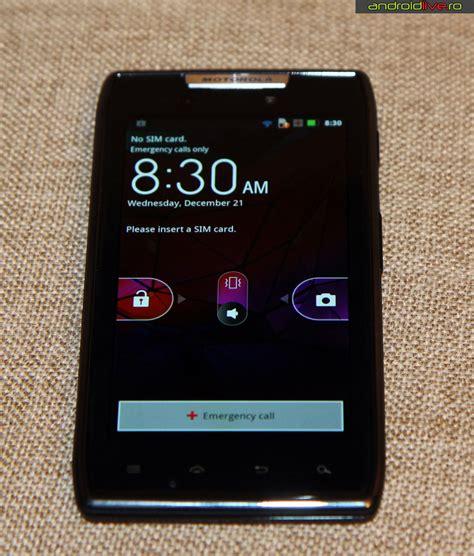 Motorola Razr Xt910 Seken Batangan motorola razr xt910 review android live telefoane tablete portabile si aplicatii android