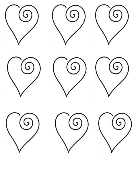 chocolate stencil templates hearts for cookie or cupcake toppers cake decorating