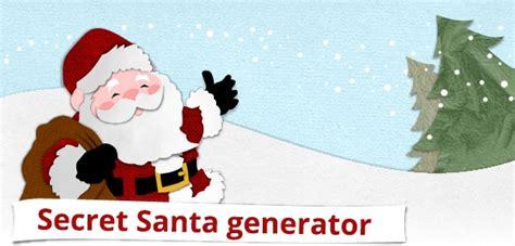 secret generator best 25 secret santa generator ideas on