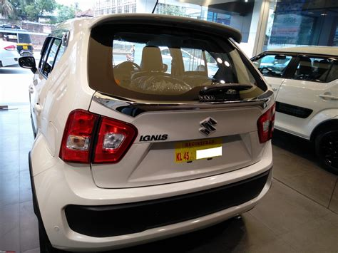Spoiler Ignis With Colour maruti ignis official review page 7 team bhp