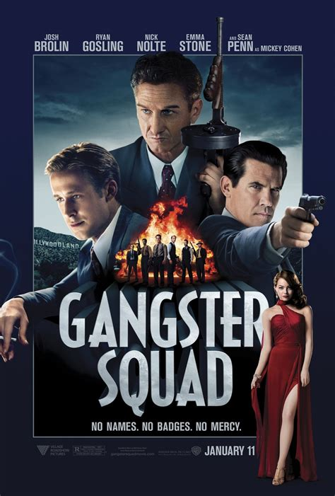 gangster film pictures gosling guns and gangsters huffpost