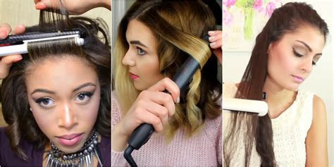 How Do You Use Straighteners On A Short Side Fringe | 8 ways to use your flat iron flat iron hacks