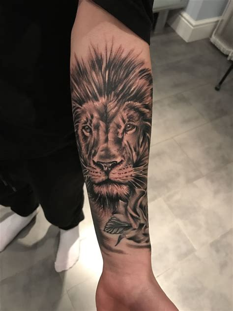 lion sleeve tattoo designs ideas  meaning tattoos
