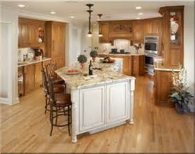 Kitchen Island Shapes Kitchen Gorgeous Kitchen Design With Brown Oak Wooden